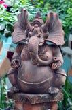 Hindu Elephant Ganesha Statue Stock Images