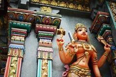 Hindu Faith. Wat kak at Sathorn. The most famous Hindu Temple in Bangkok royalty free stock photos