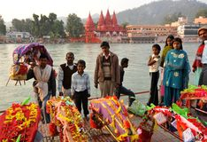 Hindu family royalty free stock photos