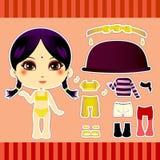 Hindu Fashion Girl Royalty Free Stock Images