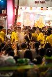 Hindu Festival. At the Sri Maha Mariamman Indian Temple on Silom Road, Bangkok, Thailand Stock Photography