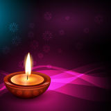 Hindu festival background of diwali Stock Photo