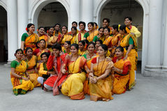 Hindu Festival of Colours Stock Photos