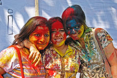 Hindu Festival of Colours Royalty Free Stock Photography