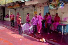Hindu Festival of Colours Stock Image