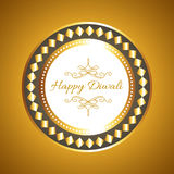 Hindu festival diwali card Royalty Free Stock Photos