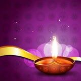 Hindu festival diya Stock Image