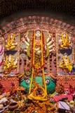 Hindu festival of Durga Puja Stock Photography