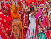 Hindu Festival Procession Stock Photography