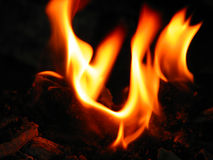 Hindu Fire Worship-III. A fire worship is a considered as a very pure and  auspicious ritual in Hindu religion Royalty Free Stock Images