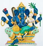 Hindu ganesha God Named Uchchishta Ganapati Royalty Free Stock Photo