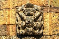 Hindu Garuda, at Pashupatinath temple Stock Photo
