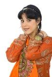Hindu girl Stock Image