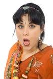 Hindu girl Royalty Free Stock Images