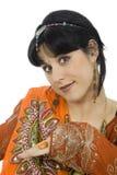 Hindu girl Royalty Free Stock Image