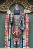 Hindu god. Photo of statue of hindu god stock illustration