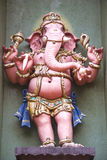 Hindu god. Photo of ganesh statue of hindu god vector illustration