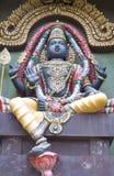 Hindu god. Photo of statue of hindu god vector illustration