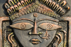 Hindu God Durga. Stock Images