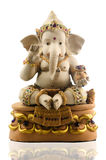 Hindu God Ganesh with gemstone Stock Photography