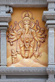 Hindu God Ganesh with Many Arms Royalty Free Stock Photography