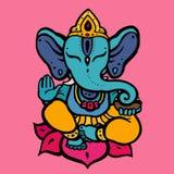 Hindu God Ganesha Stock Photo