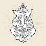 Hindu God Ganesha Stock Photo