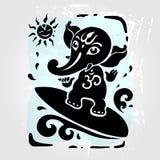 Hindu God Ganesha Stock Images