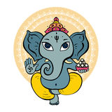 Hindu God Ganesha. Royalty Free Stock Photography