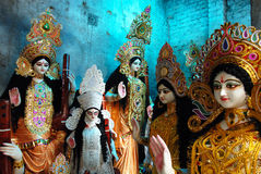 Hindu God & Goddess Royalty Free Stock Photography