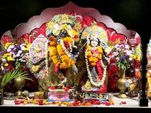 Hindu God and Goddess Radha Krishna Royalty Free Stock Images