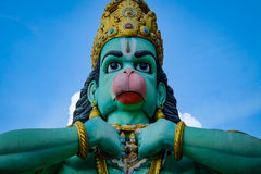 Hindu god Hanuman Stock Photo