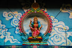 Hindu God in Indian Temple Stock Image
