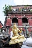 Hindu God in Kumortuli, Kolkata, India Stock Photo