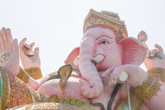Hindu god, Pink Ganesh Statue Royalty Free Stock Photos