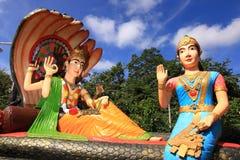 Hindu god Rama with his wife Mata Sita Stock Photos