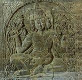 Hindu god relief Royalty Free Stock Photos