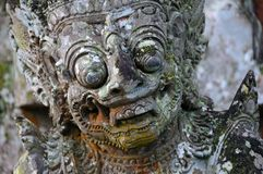 Hindu god sculpture Royalty Free Stock Photos