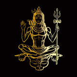 Hindu god Shiva Stock Image