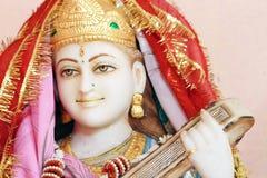 Hindu god statue. A statue of a hindu god Stock Images