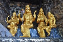 Hindu God Statues Royalty Free Stock Photography