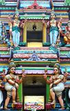 Hindu God Statues on Temple Royalty Free Stock Images