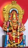 Hindu Goddess Amman. Powerfull Hindu Goddess Amman Statue Royalty Free Stock Photography