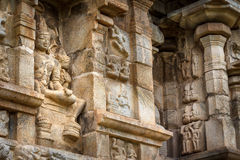 Hindu temple sculpture Stock Images