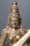 Hindu goddess Saraswati Stock Images