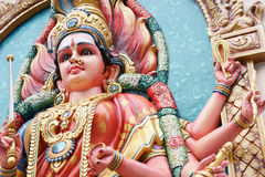 Hindu Goddess Durga Royalty Free Stock Photography