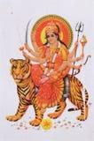 Hindu goddess Durga Stock Photography