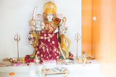 Hindu Goddess Durga statue. In india Stock Images