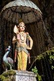 Hindu Goddess at Entrance of Batu Cave, Malaysia Stock Photo