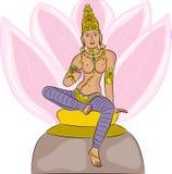 Hindu Goddess  Lakshmi Stock Photos